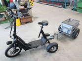 Bikeboard mit Anhänger