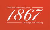 1867 flooring logo