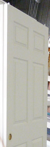Bipass Closet Doors with roller and pull prep