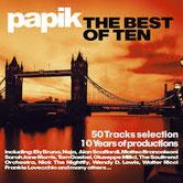 in uscita il CD con i maggiori successi produzioni Papik