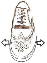 Wenn ein Schuh nicht optimal passt, können Sie diesen bei uns weiten lassen.