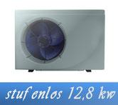 Link stufenlose Inverter 12,8 kW 230V von Holter Wärmepumpe Poolheizung