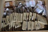 Le trésor rapporté, près de 270 variétés