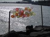 Istan-balloon sur la promenade