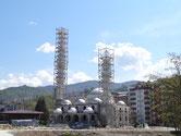 Mosquée en construction