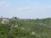 Les villages au vert de noisetier