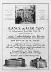 Geschäftsanzeige der Fa. Blanck & Co.
