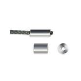 Aluminium Pressklemmen - Rund