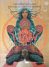 L'oracle des femmes médecine, Pierres de Lumière, tarots, lithothérpie, bien-être, ésotérisme