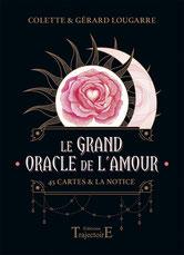 Le grand oracle de l'amour, Pierres de Lumière, tarots, lithothérpie, bien-être, ésotérisme