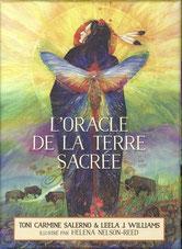 L'oracle de la terre sacrée, Pierres de Lumière, tarots, lithothérpie, bien-être, ésotérisme