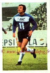N° 172 - Jean-Claude BRAS (1970-72, PSG > 1972-73, Paris FC)