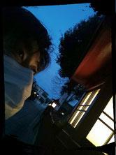 小塚 響の夜の自撮り画像