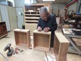 岐阜市より修理依頼の桐たんすが完成しました。