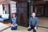 滋賀県より時代箪笥2本修理依頼を頂き喜びの納品となりました。