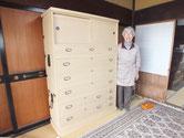 垂井町より修理依頼の夫婦箪笥の昇りを納品してきました。
