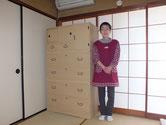 岐阜市より修理依頼の桐たんすを納品してきました。お姑さんが喜んでくれると感謝されました。