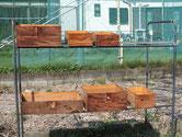 松江市より修理依頼の時代箪笥の引出を洗いました。