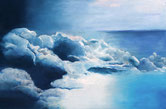 FERNWEH  Acryl / Lwd. 100 x 140 cm