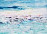 LEBEN IM EIS Acryl / Lwd. 60 x 80 cm