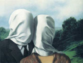 René Magritte – The Lovers