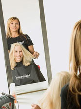 Bild: Haarverdichtung Model Tophair Styling
