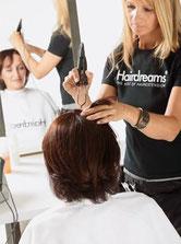 Bild: Haarverdichtung Microline Befestigung