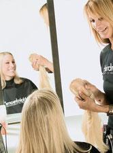 Bild: Haarverdichtung Model Tophair Beratung