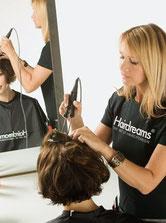 Bild: Haarverdichtung Highline Befestigung