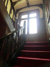 階段を上り2階へ