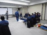 救急救命士訓練