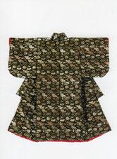 熱田神宮・秋季企画展 出展作品「姫きもの」 (明治時代の丸帯を使用して慶長小袖様に)