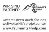 Das Projekt 7summits4help sammelt Spenden für Hilfsprogramme auf den sieben Kontinenten.