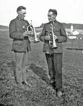 Zwei Trompeter