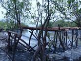 Holzbrücke, Trägerkonstruktion