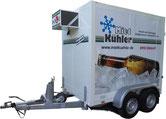 Kühl-/Tiefkühlanhänger von 750 kg bis 3000 kg zul. GG