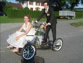 ...mit dem Brautpaar...