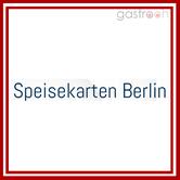Speisekarten Berlin