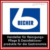 Markenhersteller für Reinigungs- Pflege und Desinfektionsprodukte für die Gastronomie und lebensmittelverarbeitende Unternehmen.