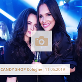 Logo Candy Shop Cologne Mai 2019 Halle tor 2