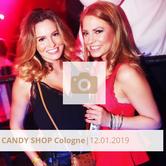 Logo Candy Shop Cologne Januar 2019 Halle Tor 2
