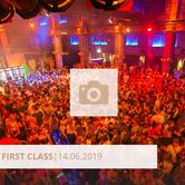Logo First Class Juni 2019 Halle Tor 2, Die Halle Tor 2, Halle Tor 2, Party, Disko, Tanzen, Club, Kölner Nachtleben, Event, Veranstaltung heute, Musik, Eventlocation Köln