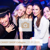 Candy Shop Cologne Januar 2020 DIE HALLE Tor 2