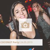 Logo Coconut Party Mai 2019 Halle tor 2, Die Halle Tor 2, Halle Tor 2, Party, Disko, Tanzen, Club, Kölner Nachtleben, Event, Veranstaltung heute, Musik, Eventlocation Köln