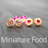 miniature food fimo polymer clay handmade crafted craft food essen