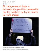 Trabajo Sexual bajo la intervención punitiva de políticas contra la trata. Agustina Iglesias Skulj