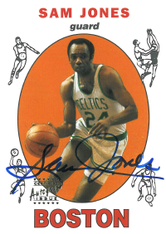 SAM JONES / Certified Autograph Issue - No. 23