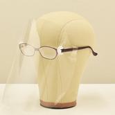 新しい生活様式 感染症対策 感染症予防対策 感染予防対策 飛沫防止 飛散防止 クリアシールド フェイスシールド フェイスガード フェイスマスク フルフェイス 軽量 UL 表情が見える 表情が隠れない 髪型を崩さない 髪型が乱れない 眼鏡取り付け メガネ取り付け マスク取り付け