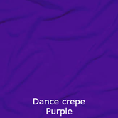 joustava kangas lycra dance crepe purple