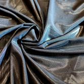 joustava kangas Metallic Verkko Powernet Musta